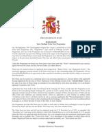 Spain Euro Medium Term Note Program
