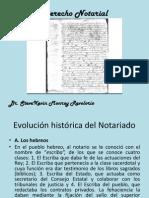 Derecho Notarial - Resumen