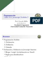 Clase Programación 10 A