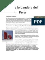 Día de le bandera del Perú