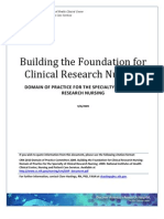 Bulding the Foundation for Clinica Researching Nursing