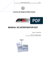 Manual Interventor ECF - MG