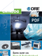 DRE Medical Equipment Catalog - 2012