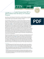 Fed Report Consumer Finances