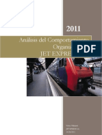 Comportamiento Organizacional Jet Express S.A