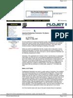 Flow Metering With Paddlewheels - Flow Control May 2002