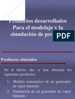 Productos de Simuladores