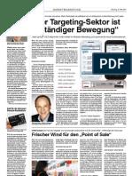 """""""Der Targeting-Sektor istin ständiger Bewegung"""""""