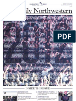 The Daily Northwestern Graduation Issue 2012