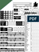 Naruto d20 Character Sheet
