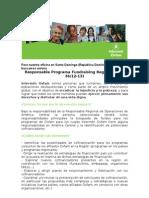Convocatoria RP Fundraising Regional Camexca RD