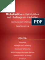 Globalisation&Marketing