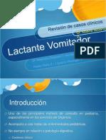 Lactante Vomitador Internado 2011