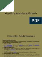 Gestión y Administración Web