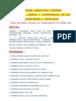 Lista Full Materiales en Cds Completo....Precios