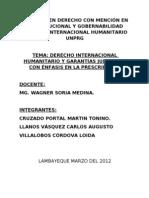 MAESTRÍA EN DERECHO CON MENCIÓN EN CONSTITUCIONAL Y GOBERNABILIDAD
