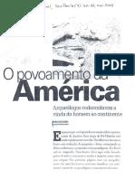 O Povoamento Da America-Nogueira