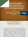 El Escenario Modificado de La Sustentabilidad