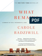 A Memoir by The Real Housewives of NYC cast member Carole Radziwill