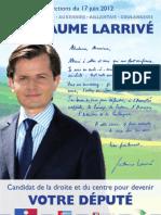 Dimanche 17 juin, votez Guillaume Larrivé !
