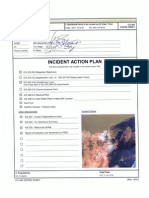 Incident Action Plan Sample