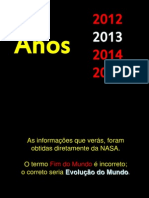 Vai Acontecer Entre 2012-2018
