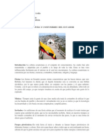 Cultura y Costumbres Del Ecuador