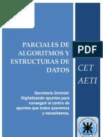 1ros parciales Algoritmos y Estructura de Datos