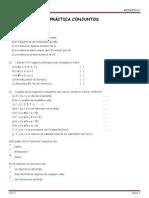 Practica de Conjuntos Matematica i