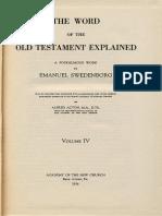 Em Swedenborg THE WORD EXPLAINED Volume IV EXODUS I XXII Numbers 3194 4558 ANC Bryn Athyn PA 1936
