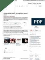 11-06-12 Permitir deuda pública, un peligro para México