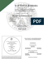 Santa Barbara County Budget 2012 to 2014