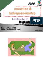 AIM - Innovation N Entrepreneurship