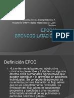 EPOC y Broncodilatación