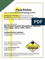 CPK Fundraiser Flyer June 2012