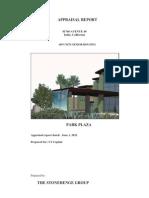 Appraisal Park-Plaza Indio Select 6-2012