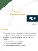 Module 8 Relative Permeability
