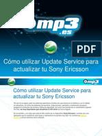 Cómo utilizar Update Service para actualizar tu Sony Ericsson