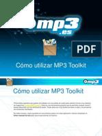 Cómo utilizar MP3 Toolkit
