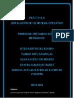 Reporte de La Practica 3 Prof Eustaquio