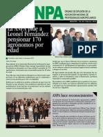 Boletín Digital ANPA No.46, Febrero 2012