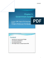 Microsoft+PowerPoint+ +Chapter+5+Government+Budget