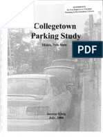 Collegetown Parking Study, Ithaca, New York published by