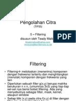 Pengolahan Citra - 05 Filtering