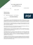 20090116 Follansbee Letter to Troy Re Settlement