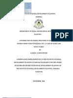 Kasese Desertation PDF