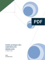 Guide Pratique Des Certificats Medicaux