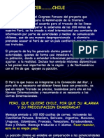 Chile Perú - Problema Limítrofe