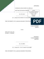 Univ. of Alabama v. New Life Art (and Daniel A. Moore), No. 09-16412 (11th Cir. Jun. 11, 2012)