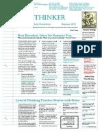 StudentNewsletterSummer_2012
